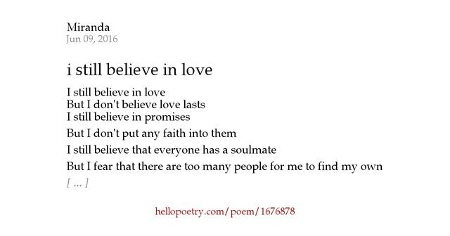 still believe in love Read the future from the story do you still believe in love by daigoswifey (jane wolfington) with 252 reads beybladeburst, beyblade, boyxboy valery daniel.