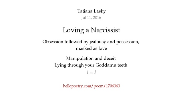 how to stop loving a narcissist