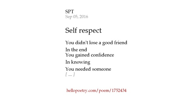 essay on respect in friendship In three separate dictionaries, respect is basically defined as a regard for or appreciation of the worth or value of someone or something in my opinion, respect goes far beyond this definition.