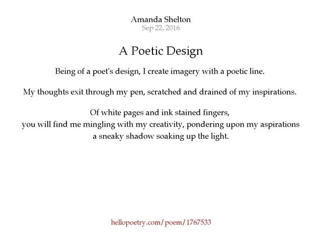 poetic design