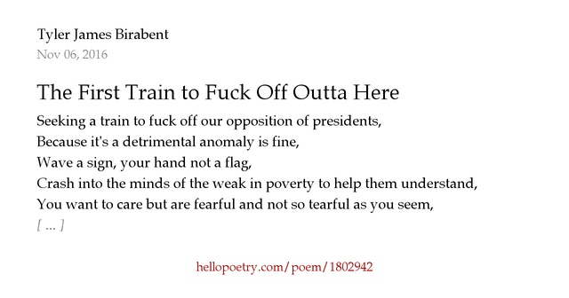 Fuck Off Poems 60