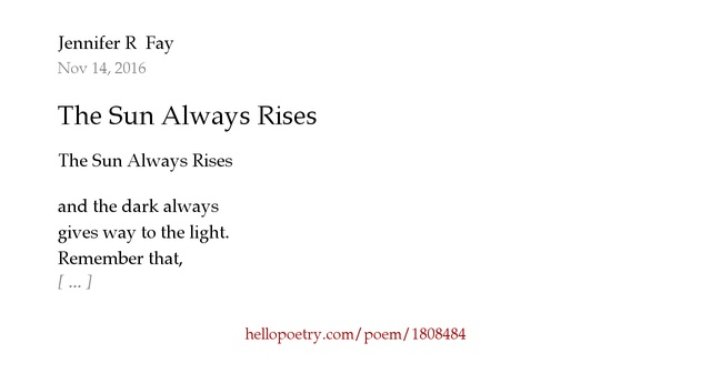 """poem review the sun rising Analysis of literary technique in john donne's the sun rising """"the sun rising"""" is a poem depicting two lovers disturbed from their bed by the rising sun."""