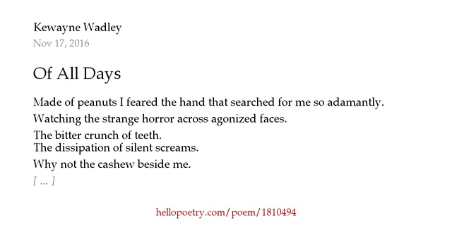 Invasion Of Privacy Poems