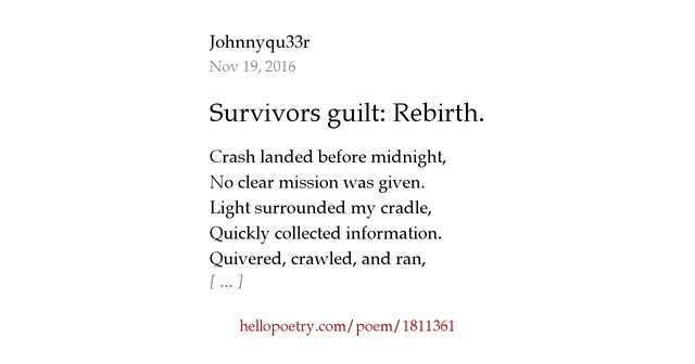 understanding survivor guilt Is survivor guilt weighing you down learn the causes of it and what you can do  to free yourself of the guilt.