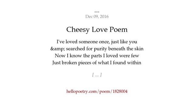 Pics Photos - Cheesy Love Poem Hello Sunshine Quotes