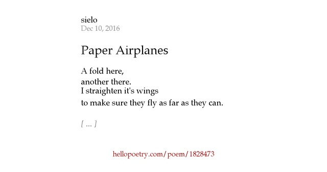 thesis on poetry