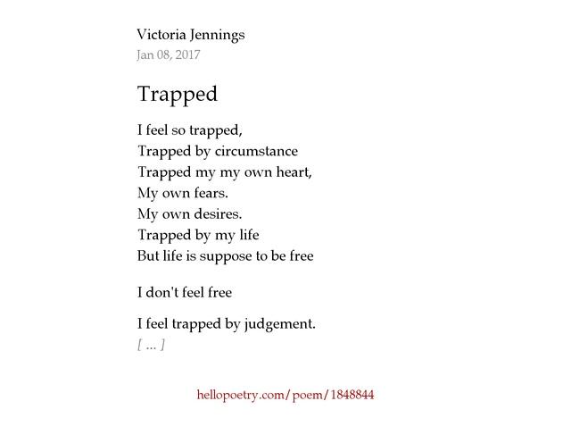 I Prefer So Trapped In My Life