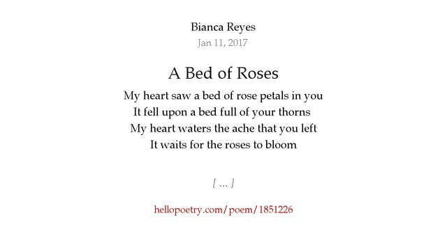 Essay on life is not a bed of roses