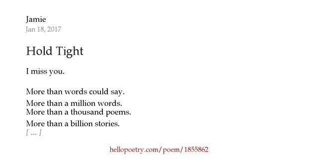 Jamie Poems | Examples of Jamie Poetry