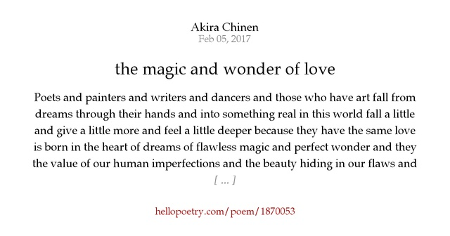 magic of love poem Amazoncom: the magic of christmas - the magic of love: beautifully illustrated poems for children and the young at heart (9781478737612): susan brougher: books.