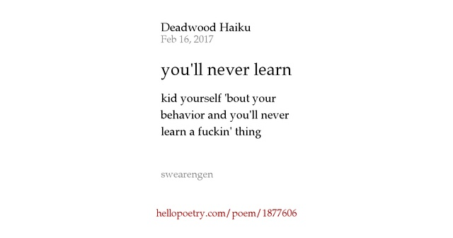 You Learn By Living by J. Patrick Lewis | Poetry Foundation