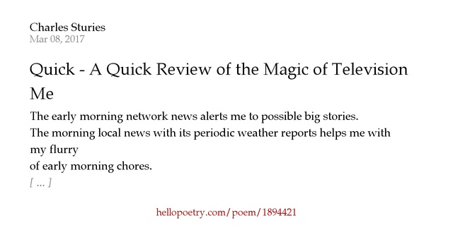 a poem about magic summary Brief summary of the poem journey of the magi journey of the magi opens with a quote about a journey, and it's a cold and difficult one.