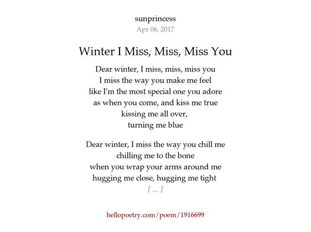 you make me feel amazing poems
