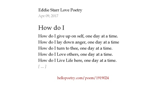 "how do poets present love from When shirley geok-lin lim wrote ""learning to love america"" in the mid-1990s,  the poem was her way of expressing her commitment to."