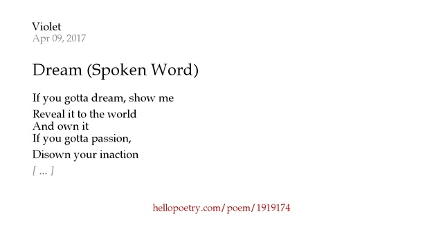 spoken word poetry Learn all about slam poetry and why spoken word poems are so much fun to  watch when performed live.