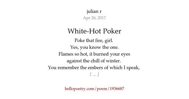 Poem poker