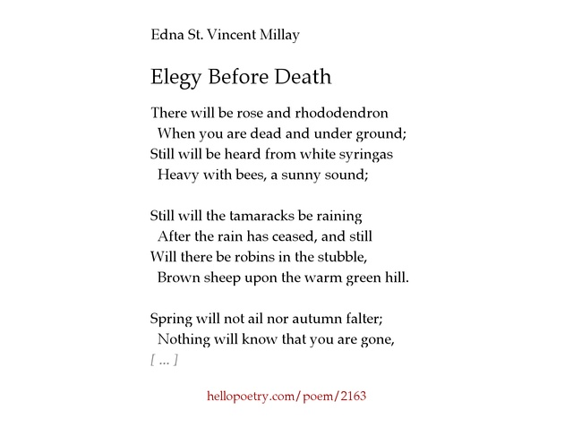 spring by edna st vincent millay