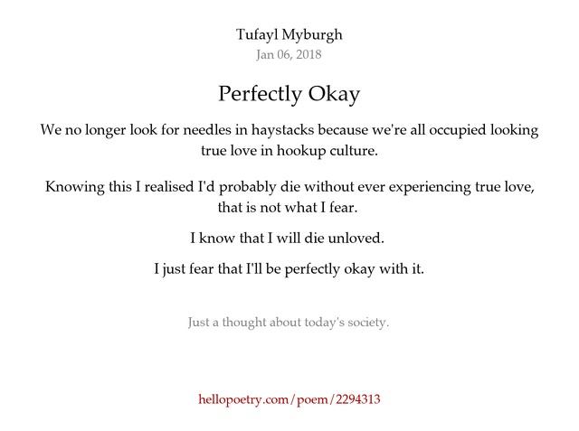 I Know We Just Started Hookup Poems