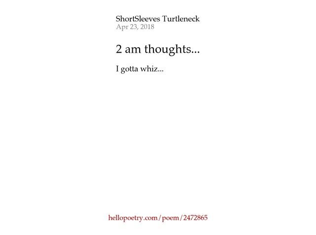 2 am poem