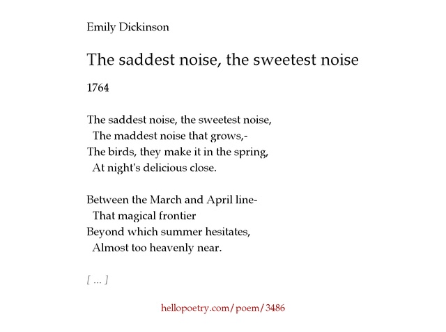 """emily dickinson essays on poetry Free college essay diction and syntax in emily dickinson's poetry emily dickinson: poetry essay one of the most acclaimed american poets, emily dickinsonвђ""""the reclusive, heartbroken geniusвђ""""asserts her position among such."""
