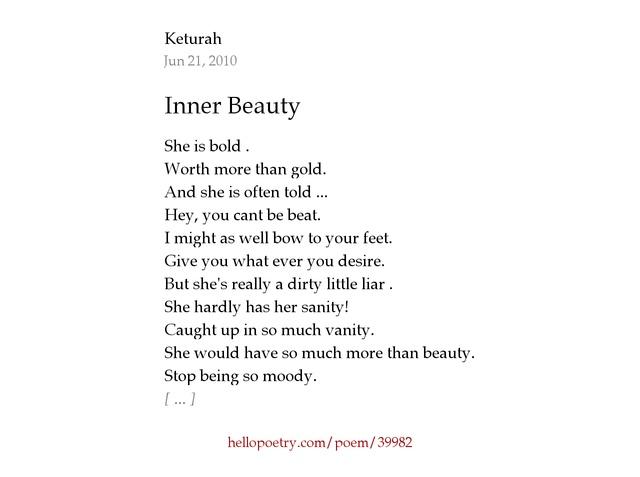 Inner Beauty By Keturah