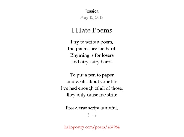 hate poem A mix of funny love poems and funny poems about life's pet hates by contemporary english poets paul curtis and max scratchmann.