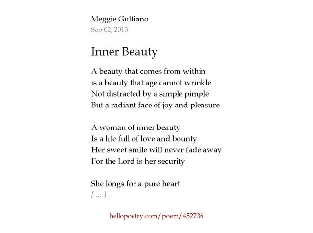 Inner Beauty By Meggie Gultiano