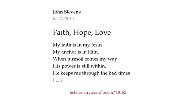 100+ Poems About Hope And Faith – yasminroohi