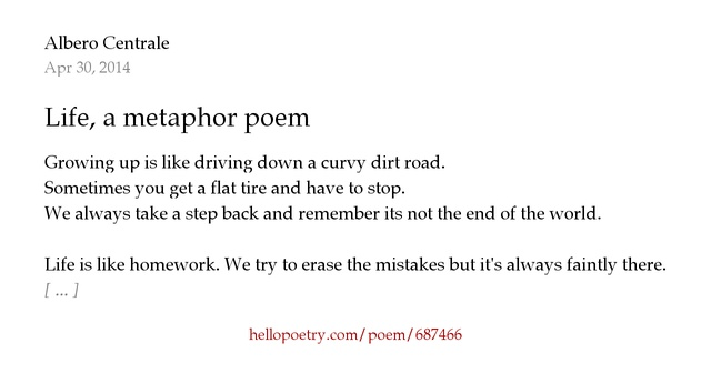 """the importance of metaphor in poetry B) what is one of the important purposes of the rhythm in """"rain in summer""""   simile and metaphor are tools that help poets and other writers create wonderful ."""