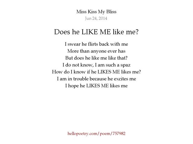 like me he Does