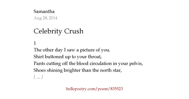 29 Crush Poems - Love Poems about Crushes