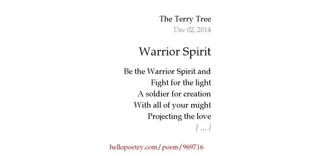 Warrior poems quotes - managementdynamics info