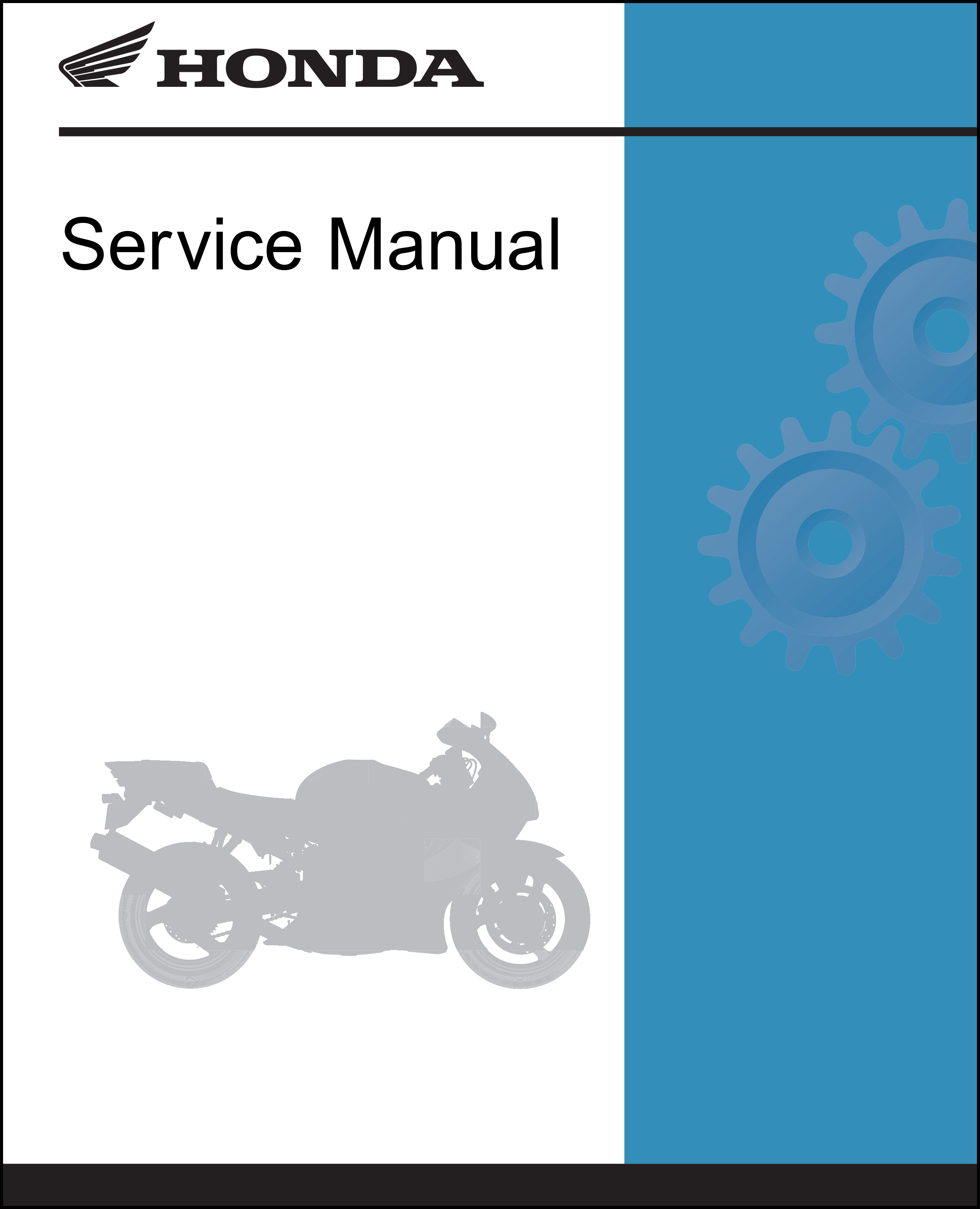 Honda 2003-2017 ST1300/A/P/PA Service Manual Shop Repair 03 2004 04 2005 05  2006