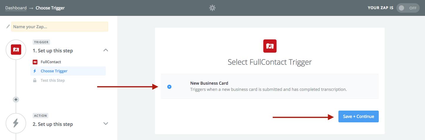 Integrate a business card reader application - SalesforceIQ Help