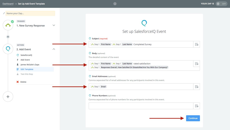 Integrate SurveyMonkey - SalesforceIQ Help
