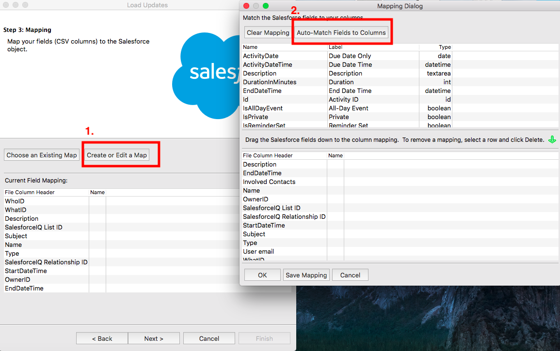 Import Data - SalesforceIQ Help