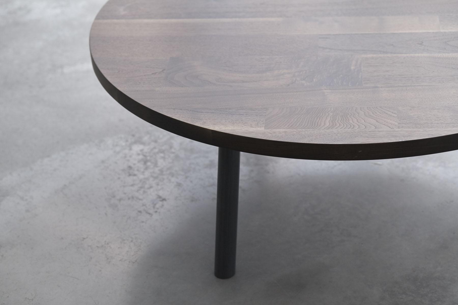 Low 3 Leg Round Table