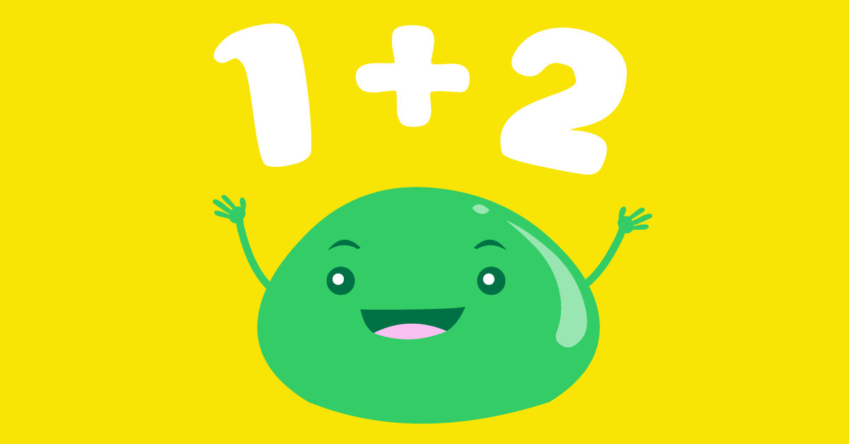 Math Flashcards Quiz With Blobby