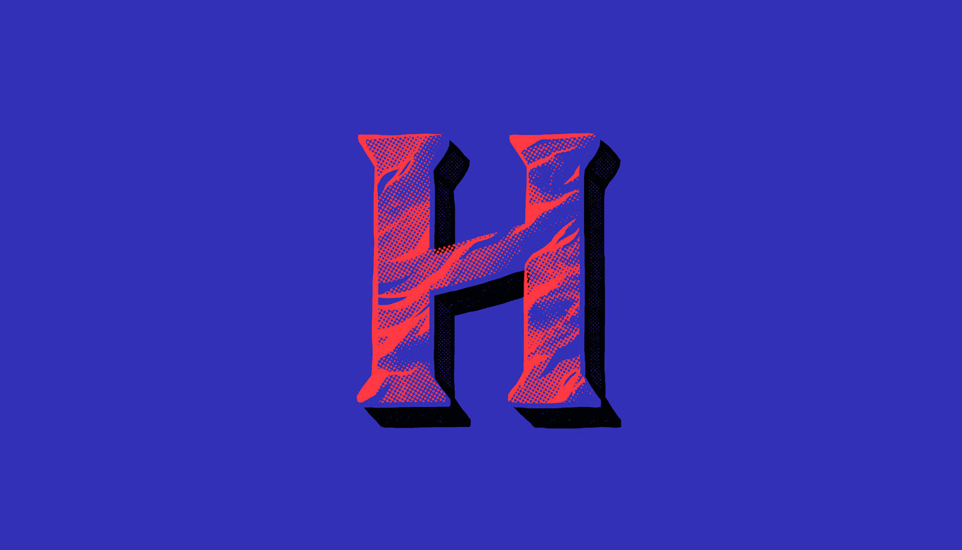 Colour, Texture and Patterns - Typography Inspiration by TJ Nicklin 5