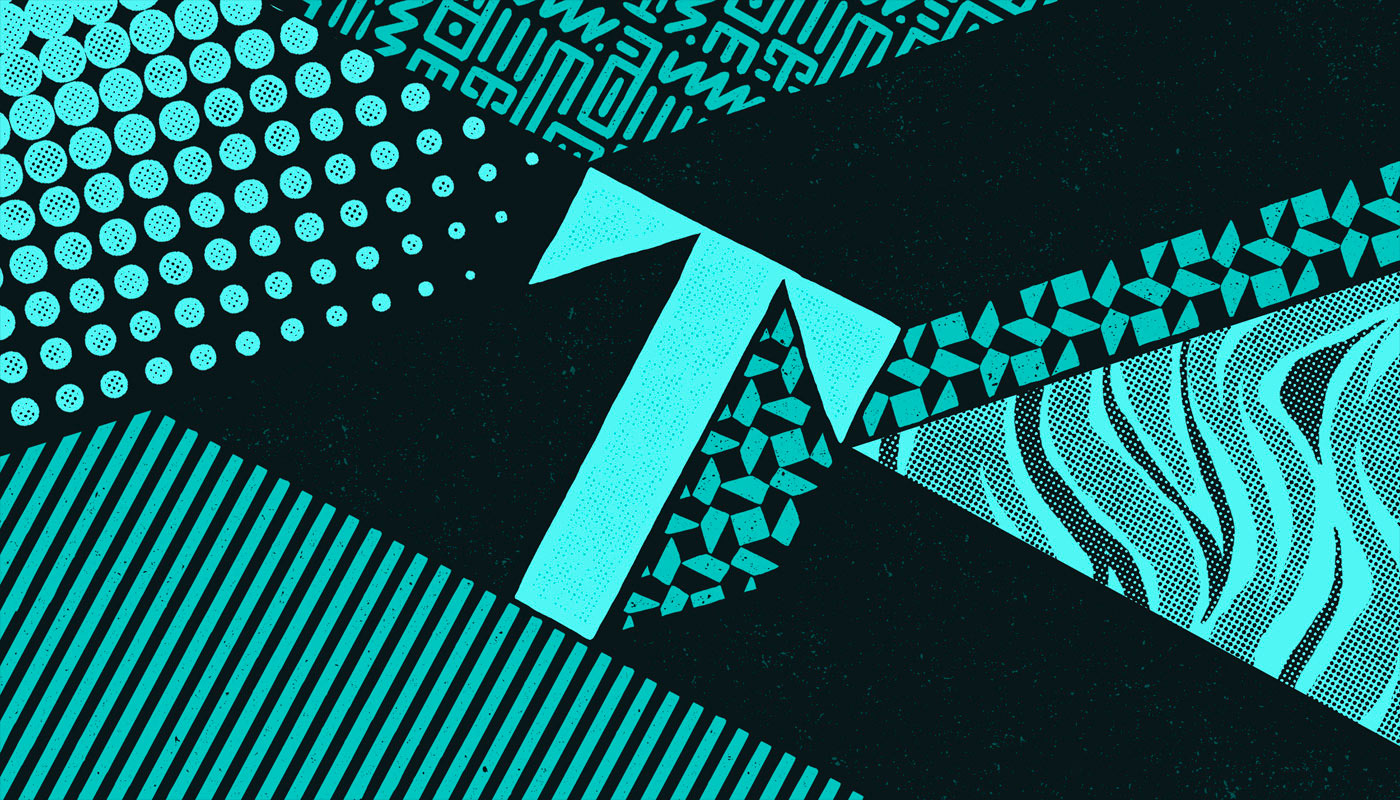 Colour, Texture and Patterns - Typography Inspiration by TJ Nicklin 11