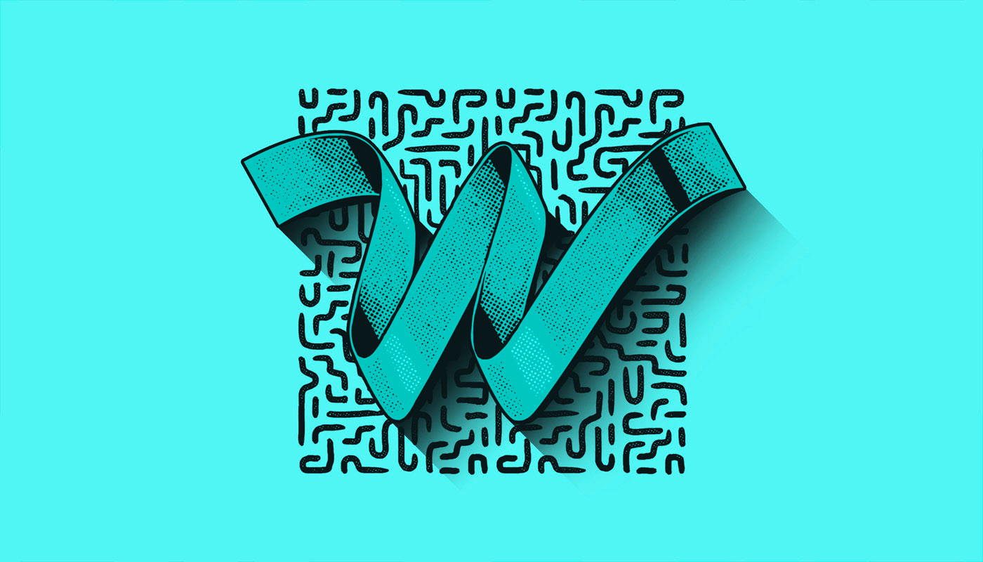 Colour, Texture and Patterns - Typography Inspiration by TJ Nicklin 12