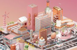 Mastercard City - 3D Design Inspiration by Peter Tarka and Mateusz Krol