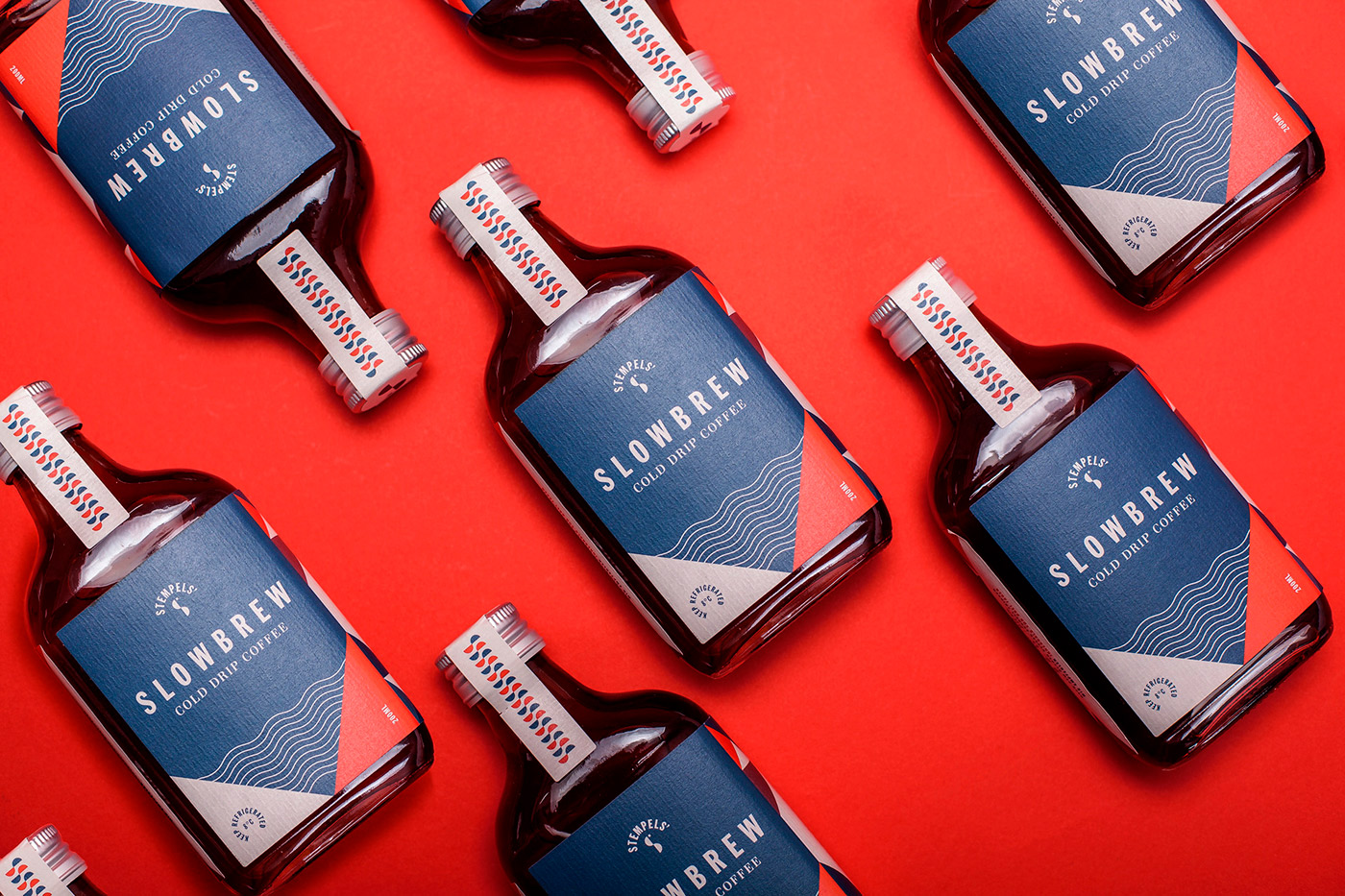 Branding & Packaging Design Inspiration for Tasty Cold Drip Coffee