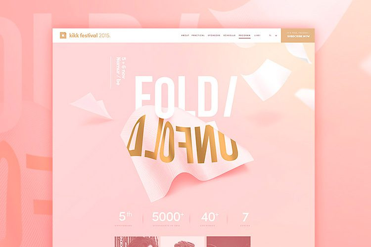 UI & UX Inspiration - Web Design Ideas by Dogstudio