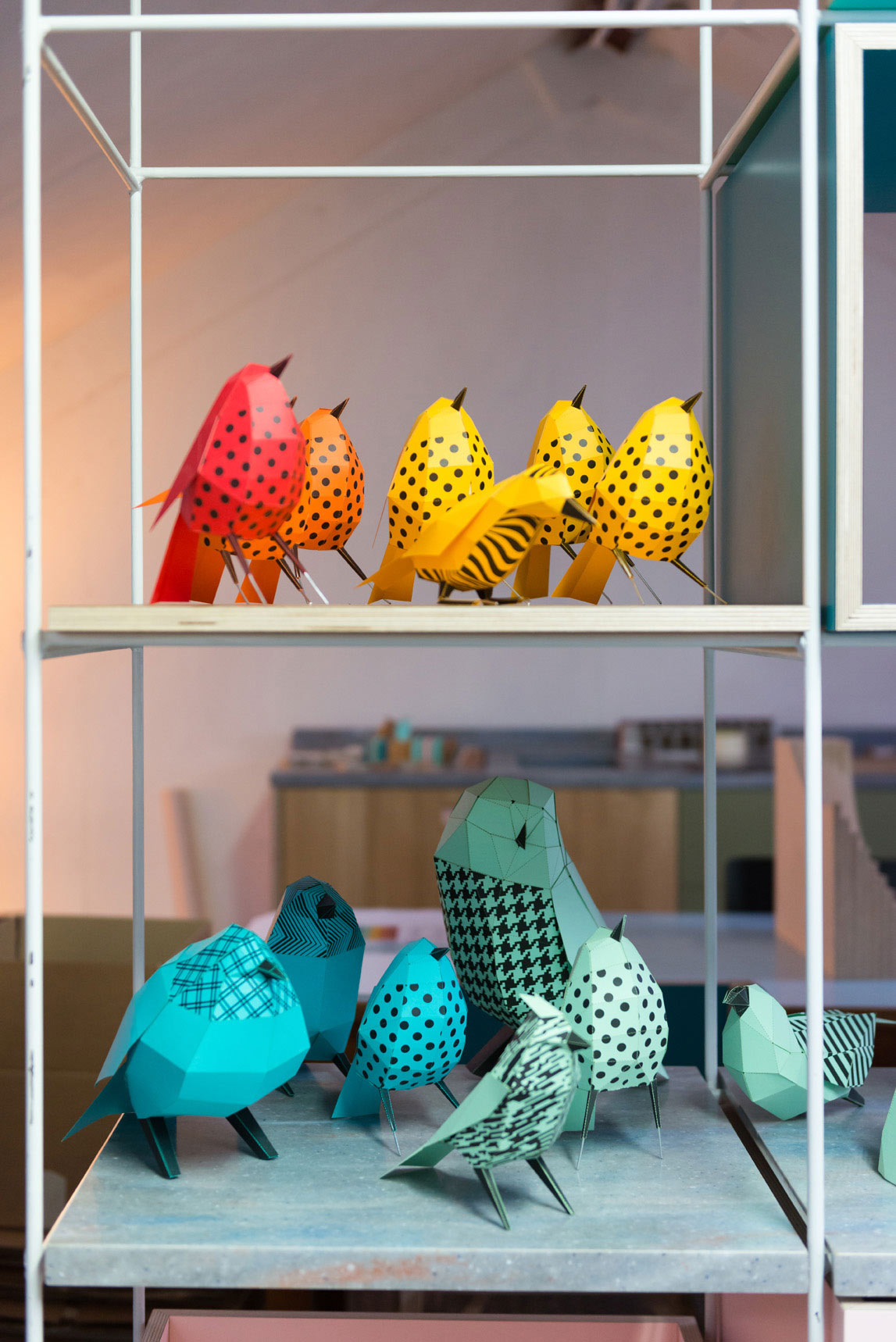 Paper Aviary - A London Exhibition Inspired by the Fashion Houses and Craftsmen of the Area