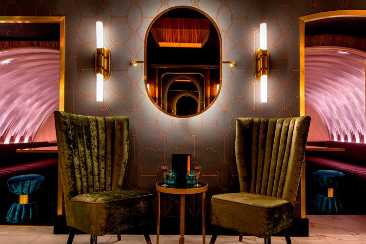 London Nightlife & A Rich Heritage of Establishment and Scandal: Graphic & Interior Design