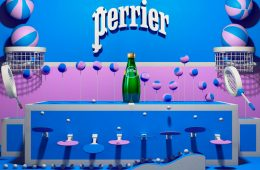 Sparkling Water, Different Universes & 3D Design: A Creative Project for Perrier