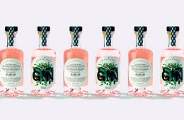 Graphic Design and Packaging - Wolffer Gin by IWANT desig