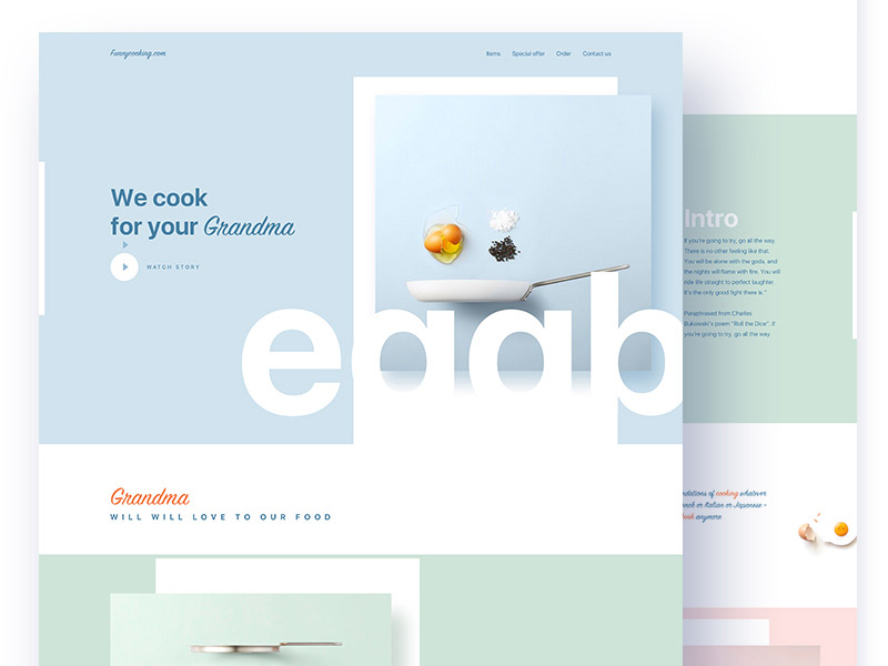Clean and Colorful Ideas - Web Design Inspiration by Raaz Das