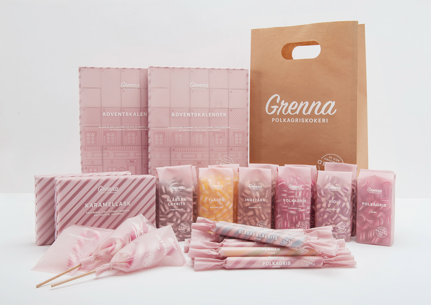 Grenna Polkagriskokeri - Branding & Tasty Packaging Design